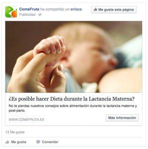 Anuncio de pago en facebook lead ads