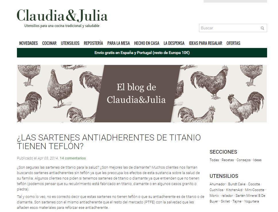 claudia and julia teflon