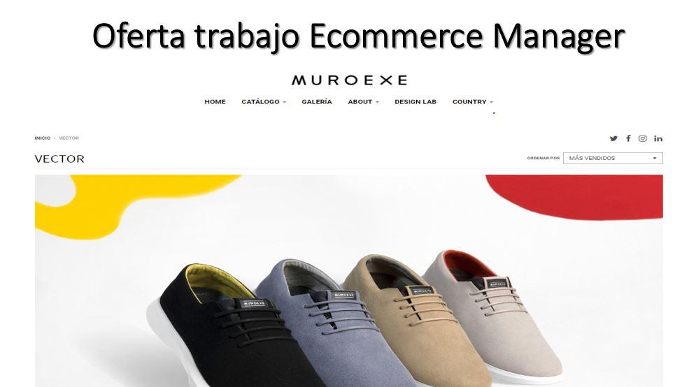 Muroexe ecommerce manager