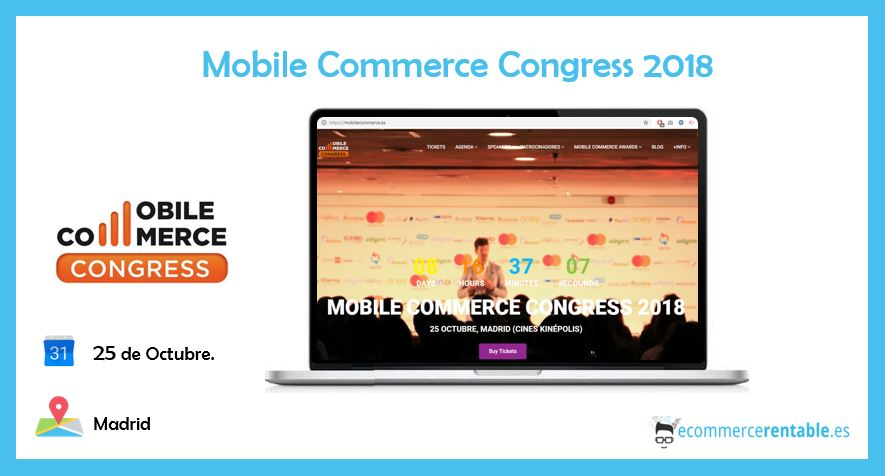 ecommerce rentable. eventos. commerce congress