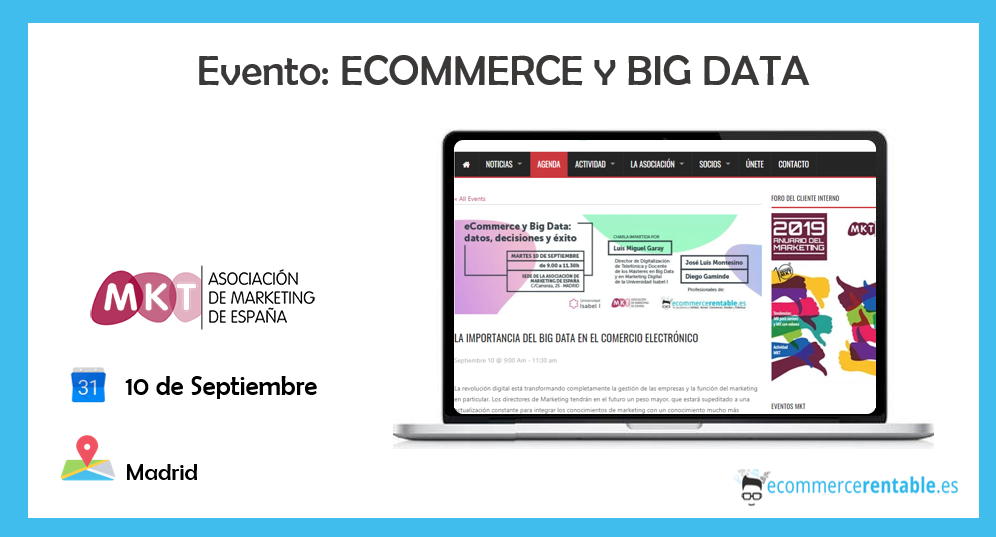 eventos ecommerce comercio electrónico