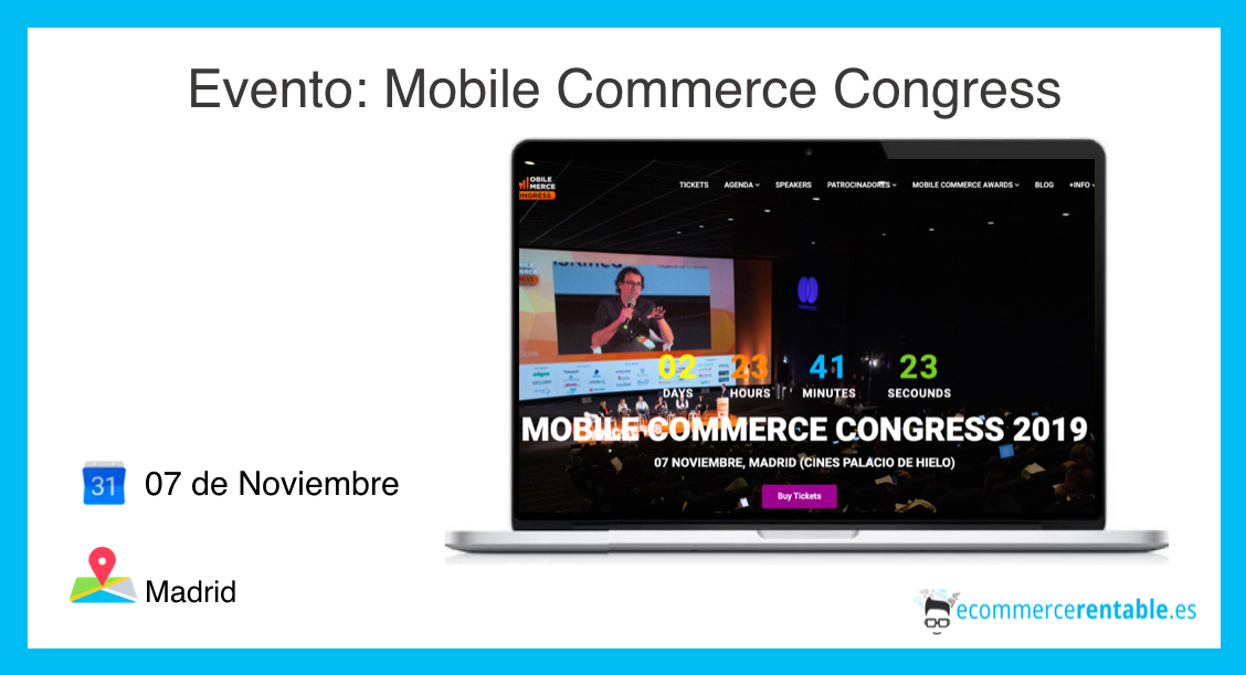 eventos ecommerce. mobile commerce congress