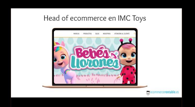 oferta trabajo comercio electronico imc toys
