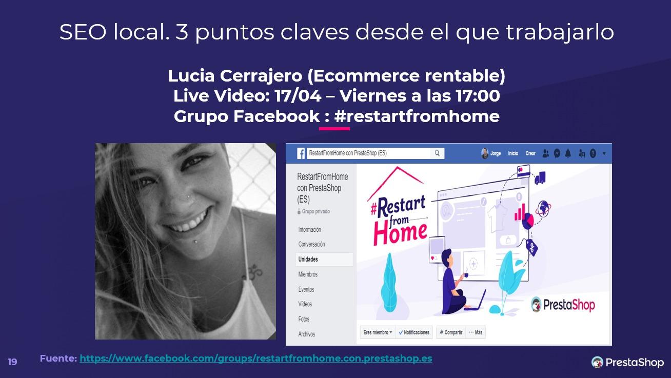 Lucia Cerrajero SEO local
